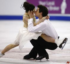 """Field of Gold: Olympic Look Back: Tessa Virtue and Scott Moir's """"Symphony No.5,"""" by Gustav Mahler"""
