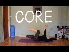 (2) CORE I Cvičení na hluboký stabilizační systém - YouTube