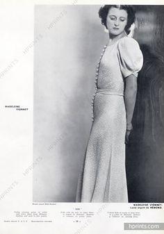 Madeleine Vionnet 1937 Photo Laure Albin Guillot, Rémond (Fabric)
