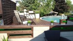 Landscaping on pinterest for Club piscine outdoor furniture