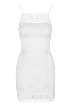 TALL Floral Lace Bodycon Dress