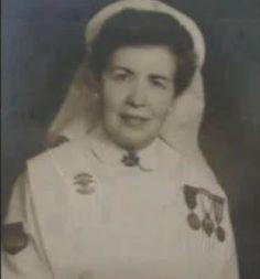 enfermera falangistas de la División Azul