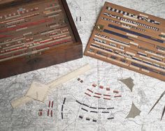 """""""The Game of War"""", a British Army wargame, manufactured for HM Goverment by V & J Figgins, circa 1890."""