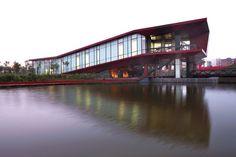 Sunlay, Tianjin Qiaoyuan Bridge Culture Museum, Tianjin Qiaoyuan Bridge Culture Museum Sunlay - http://architectism.com/tianjin-qiaoyuan-bridge-culture-museum-sunlay/