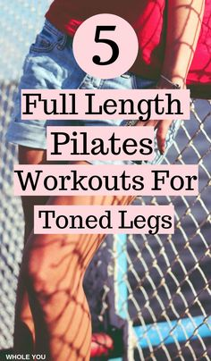 pilates, pilates for beginners, pilates workout routine, pilates workout video, pilates workout at home. workout 5 Full-Length Pilates Workouts For Toned Legs Pilates Workout Routine, Workout Cardio, Workout Routines For Beginners, Pilates For Beginners, Toning Workouts, At Home Workouts, Studio Workouts, Beginner Pilates, Workout Ball