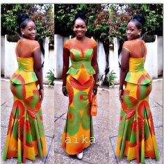 African Maxi Gown Dress - The African Clothing African Print Dresses, African Fashion Dresses, African Dress, Nigerian Fashion, African Prints, Ghanaian Fashion, Ankara Fashion, African Inspired Fashion, African Print Fashion