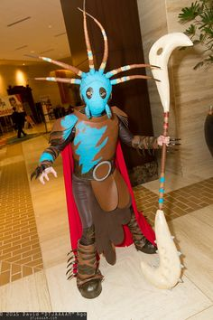 Valka from How To Train Your Dragon - awesome!