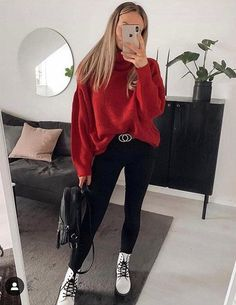 Easy & Lovely Outfit Ideas for All Superior Girls If you are looking the Fresh & Trendy Outfit Ideas to make yourself more gorgeous then [. Cute Fall Outfits, Casual Winter Outfits, Winter Fashion Outfits, Boho Outfits, Look Fashion, Girl Fashion, Modest Fashion, Fashion Clothes, Fashion Ideas