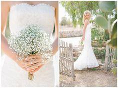 Hochzeitsfotos vom #Brautstrauß aus #Schleierkraut und #Portrait der Braut •  portrait of the bride with her flower bouquet