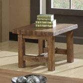Found it at Wayfair - Emerald Home Furnishings Bellevue Corner End Table $234.80  28x28x21