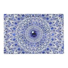"""Title : 111, BLING, Geometric,Blue Round Paisley Print Placemat  Description : BLING, """"Bling-Bling"""", Diamonds, Ice, Fashions, Jewels, Gemstones, """"Chic-Girly"""", Glitter, """"Faux-Glitter, Silver, Gold, Platinum, """"Teen-Gifts"""", Sparkle, Stars, """"Bling-Wings"""", Decorative, """"Animal-Bling"""", """"Flower-Bling"""", Gifts, Rhinestones, Beads, """"Home-Accents"""", """"Home-Décor"""", Contemporary, Modern, Retro, Jeweled, Sequins, Graphite, Studded, """"Custom-Designs"""", Dazzling, Bedazzled, """"Geometric-Bling"""", Fabrics, Patterns…"""