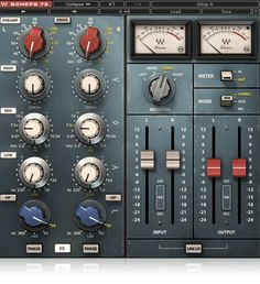 The Waves Scheps 73 is a colorful 3-band EQ modeled on the classic 1073 console's EQ and mic preamp module and developed in association with world-renowned mixing engineer Andrew Scheps.