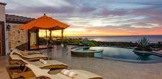Fantastic sunrise at Casa Mar y Estrella, Cabo San Lucas vacation rentals