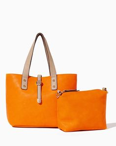 Everyday Bag-in-Bag Tote | UPC: 450900483395 Tangerine, Orange, COTM