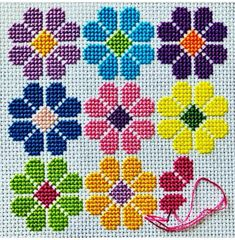 Cross Stitch Tree, Cross Stitch Bookmarks, Mini Cross Stitch, Cross Stitch Borders, Cross Stitch Alphabet, Cross Stitch Flowers, Cross Stitch Cushion, Cross Stitch Designs, Cross Stitching
