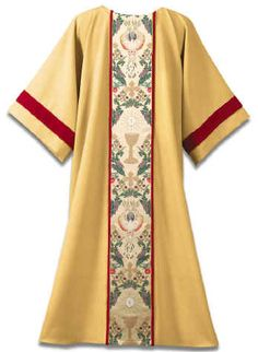 Tapestry of Life on Gold w/Red Velvet Trim Dalmatic