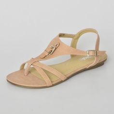 Buy 'yeswalker – Buckle Accent T-Strap Sandals' with Free International Shipping at YesStyle.com. Browse and shop for thousands of Asian fashion items from Hong Kong and more!