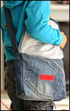 Paecy i Pato Blog : Upcycling: Kindergartentasche