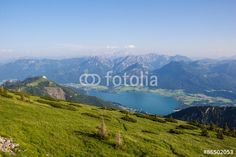 #View To #Lake #Wolfgangsee From #Schafbergspitze @fotolia #fotolia @Salzkammergut @iSalzkammergut #Salzkammergut #nature #landscape #summer #season #mountains #austria #travel #vacation #holidays #sightseeing #outdoor #view #beautiful #wonderful #stock #photo #portfolio #download #hires #royaltyfree