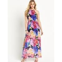 Definitions Petite Floral Print Maxi Dress - jaada   This season is all about bold prints and clashing florals - inject this trend into your evening wardrobe with this petite floral maxi dress by Definitions.The perfect evening dress for your summer holiday,