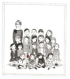 Julie Morstad Children's Books, Drawing and Painting. Prints available.