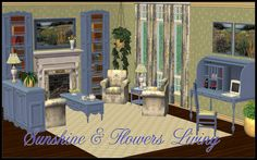 Maxis Living: Sunshine & Flowers Textures