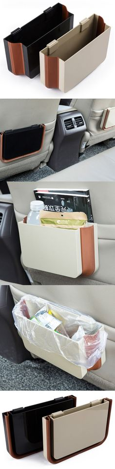 Elegant and functional. This is the trash can you want that doesn't comprise the look of your car!