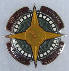 US Army Fort Dix Training Center NJ crest DUI badge G-23