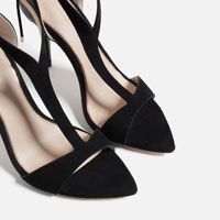 Image 5 of HIGH HEEL STRAPPY SANDALS from Zara