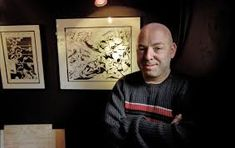Brian Michael Bendis has had an extremely successful 18 years at Marvel. Here's why him leaving isn't a bad thing. Comic Book Artists, Comic Artist, Comic Books, Brian Michael Bendis, About Me Blog, Gallery Wall, Marvel, Comics, Painting