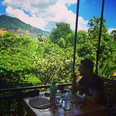 PEMUTARAN (nabij het nationaal park) : Uitzicht bij Frangipane restaurant