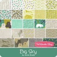 Big Sky Half Yard Bundle Reservation Annie Brady for Moda Fabrics