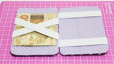 Carteira Mágica com Caixa de Leite -  Passo a Passo - Segredos de Aline