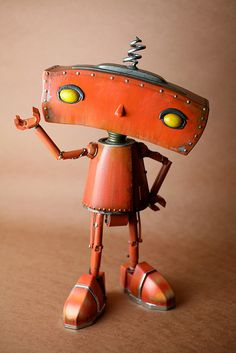 Prototype of the Bad Robot used for the Comic Con a few years ago // Brandon Fayette