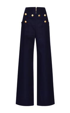 Cotton Gabardine Pants by Kenzo