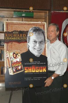 - Richard Chamberlain Apperance For His New Dvd - Shogun - at Virgin Megastore, Los Angeles, CA - - Photo by Milan Ryba / Globe Photos Inc. The Bourne Identity, The Thorn Birds, Book Of James, Richard Chamberlain, Stars Then And Now, Movies Worth Watching, Musical Theatre, Celebrity Pictures, First World