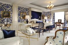 Four Seasons Hotel George V Paris Presidential Suite Bedroom