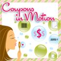 Coupons in Motion  *Freebies tab