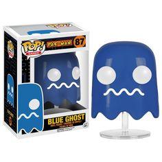 Funko Pac-Man POP Blue Ghost Vinyl Figure - Radar Toys