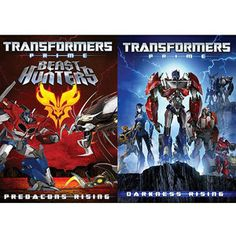 Transformers Prime: Predacons Rising / Darkness Rising (2-Pack) (Anamorphic Widescreen)
