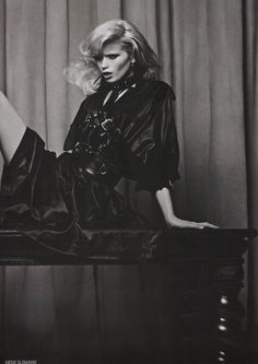 Abbey Lee Kershaw by Hedi Slimane for Vogue Russia April 2011