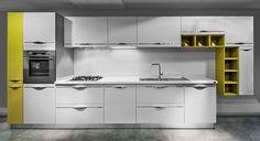 Made Mutfak - Mutfak modelleri - MARE Akrilik. Showroom, Kitchen Ideas, Kitchen Cabinets, Home Decor, Decoration Home, Room Decor, Cabinets, Home Interior Design, Fashion Showroom