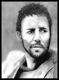 Russel Crowe (Gladiator). 6 hours of work.