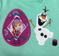 Custom Boutique Frozen Easter Olaf with by littlehcdesigns on Etsy