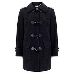 Buy Four Seasons Plain Duffle Coat Online at johnlewis.com