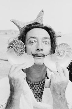 "Salvador Dali: ""The only difference between me and a madman is I'm not mad."""