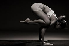 Kakasana crow pose leads to Bakasana crane pose