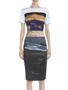 MCQ ALEXANDER MCQUEEN Long Bodycon Dress