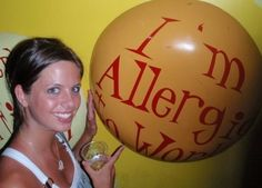 I am allergic to work! - Have you ever felt like this? www.lindyjordan.com
