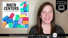 Launching Math Centers
